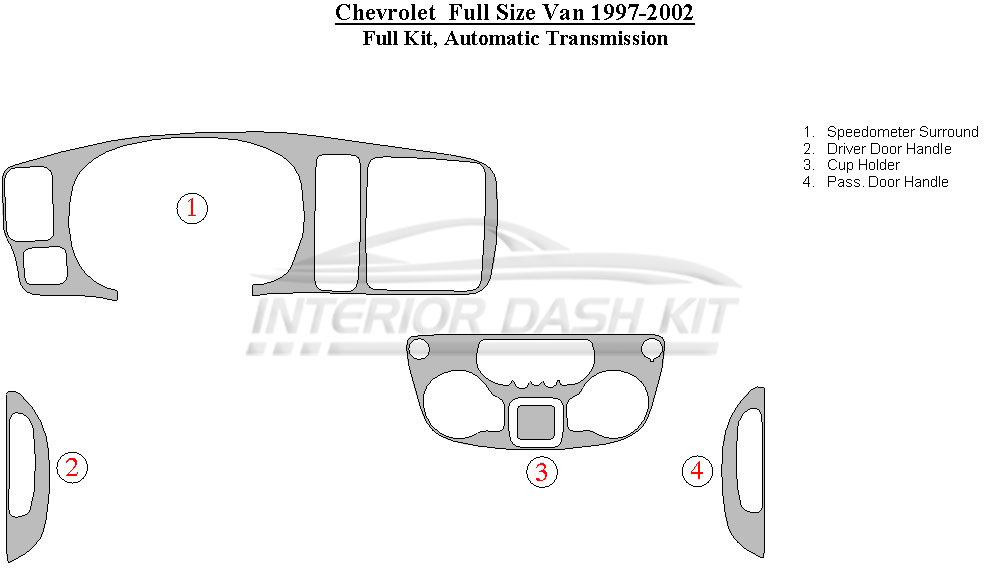 2002 Silverado Dash Kit Diagram - Wiring Diagrams Hidden on