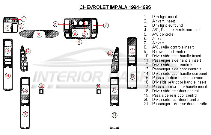 chevrolet impala ss 1994